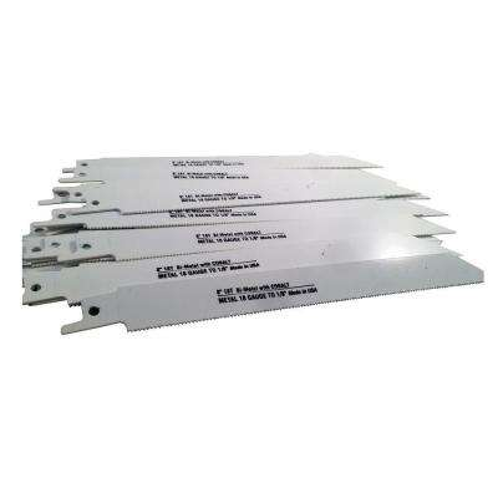 8 in. 18 Teeth per in. Metal Cutting Bi-Metal Reciprocating Saw Blade (50-Pack)