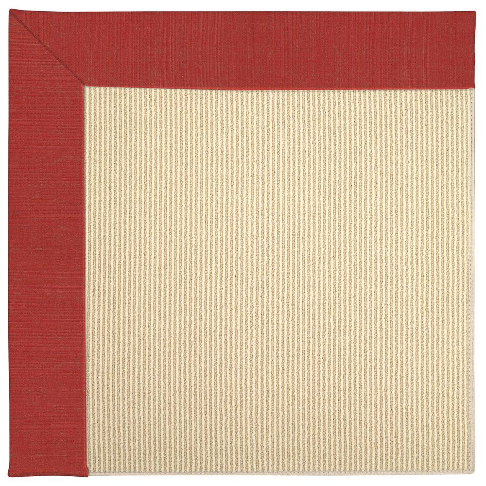 Zoe Beach Sisal Red Crimson 12 Ft X 15 Area