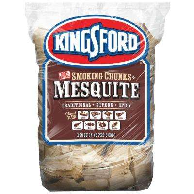 350cu. in. BBQ Mesquite Wood Chunks