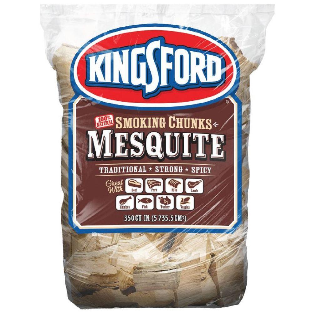350 cu. in. BBQ Mesquite Wood Chunks
