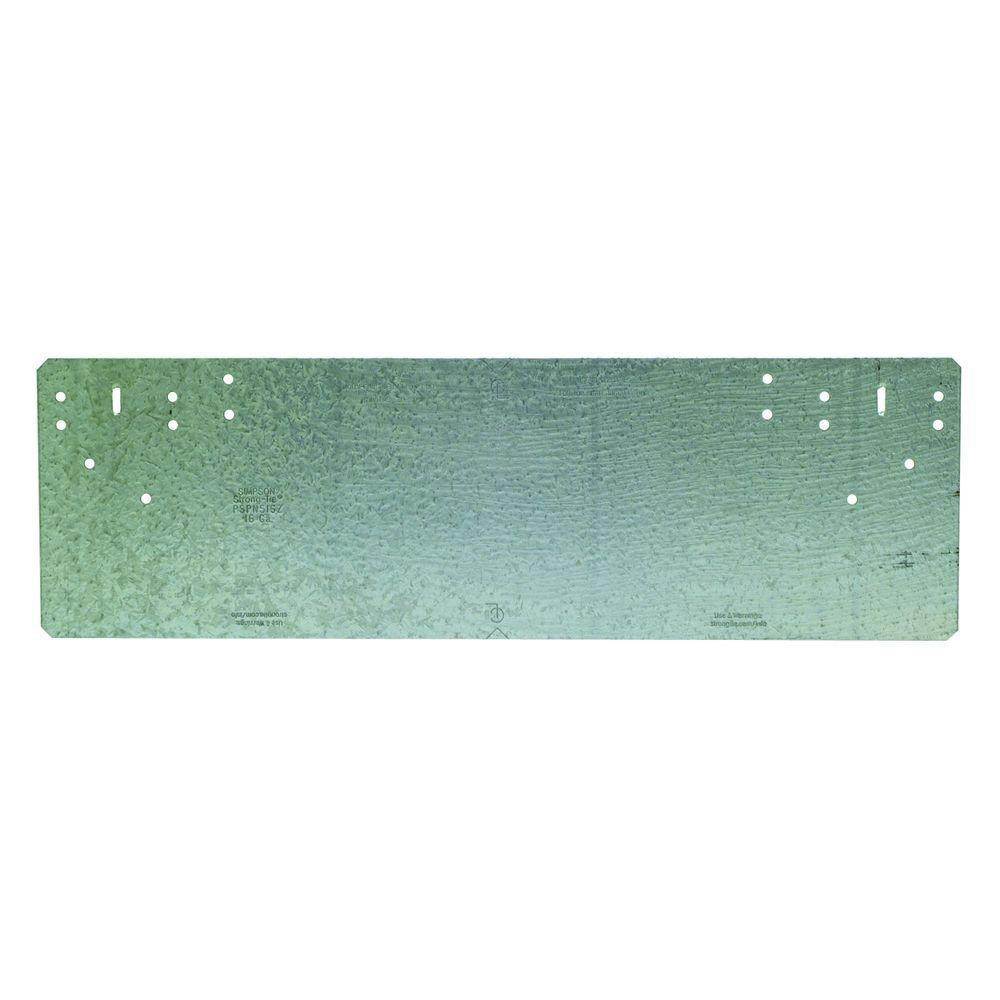 PSPN 5 in. x 16-5/16 in. ZMAX Galvanized Protecting Shield Plate Nail Stopper
