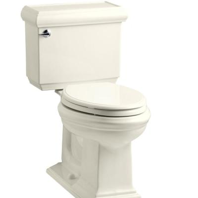 Memoirs Classic 2-Piece 1.28 GPF Single Flush Elongated Toilet with AquaPiston Flush Technology in Biscuit