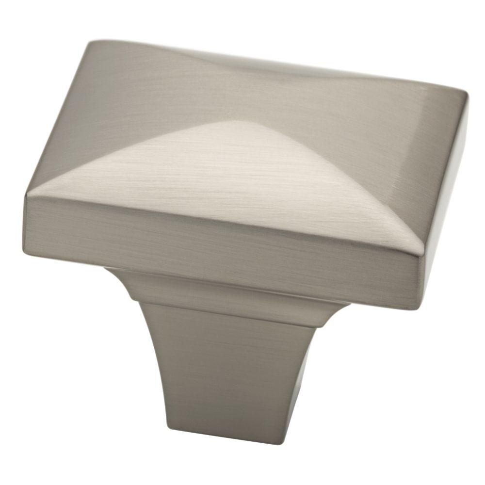 Barcelona 1-3/4 in. Satin Nickel Beverly Cabinet Knob