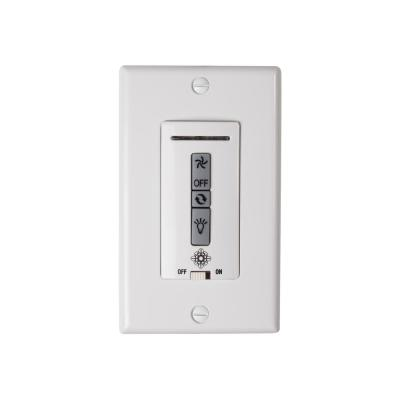White Hardwired Ceiling Fan Wall Switch