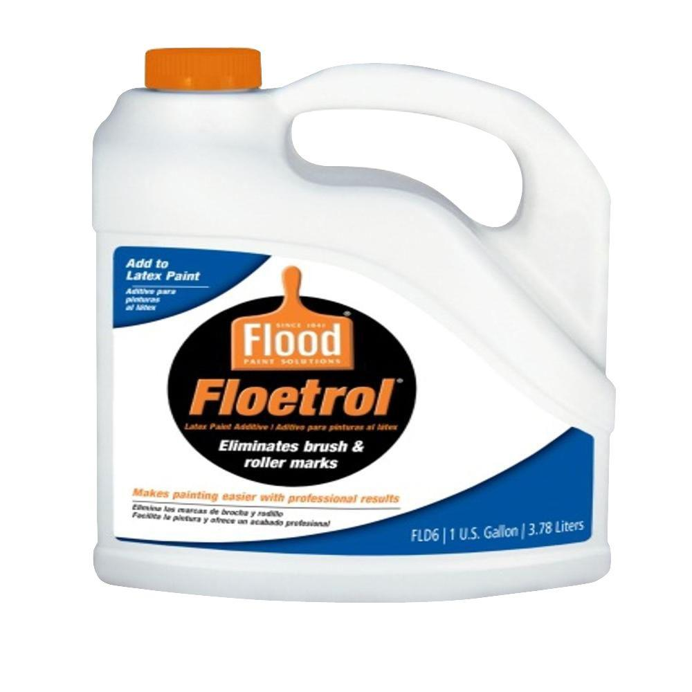Flood 1 Gal Floetrol Latex Paint Additive Fld6 01 The Home Depot