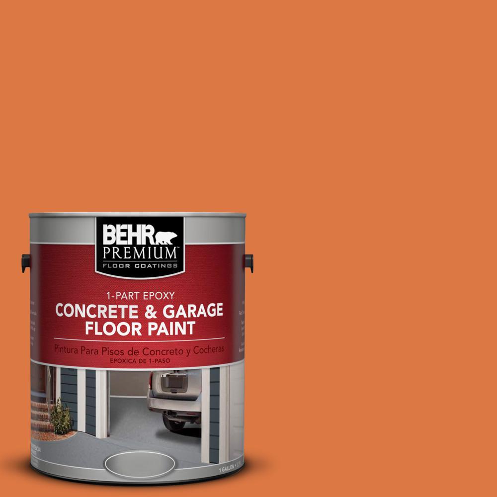 1 gal. #P210-7 Japanese Koi 1-Part Epoxy Concrete and Garage Floor Paint