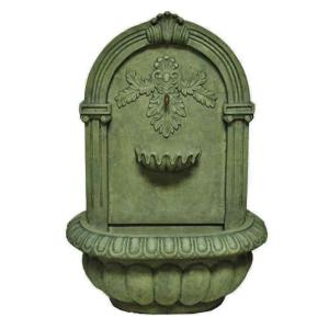 MPG 34.25 inch H Wall Fountain in Old Stone Finish by MPG