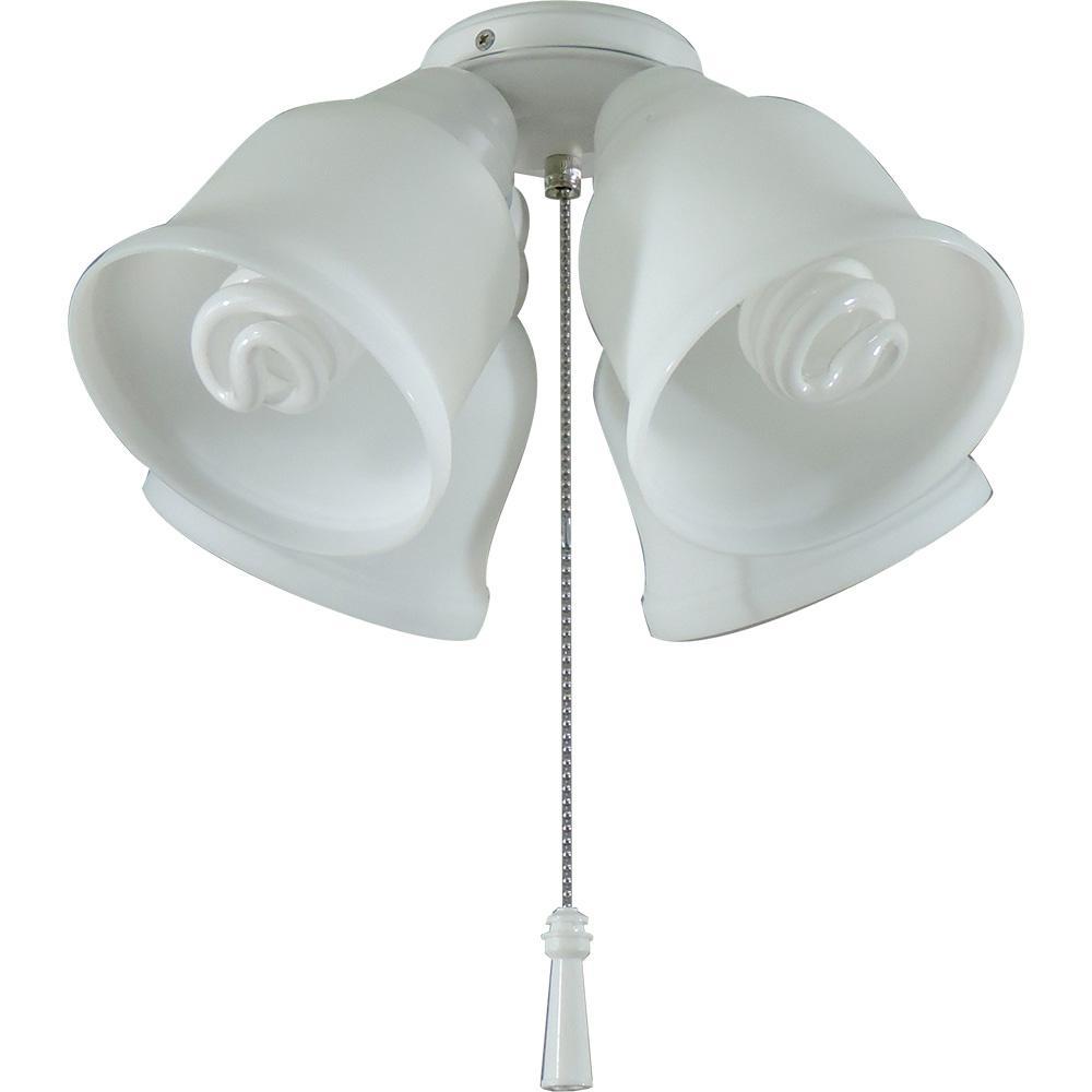 Hampton Bay Gazelle LED Ceiling Fan Light Kit MW