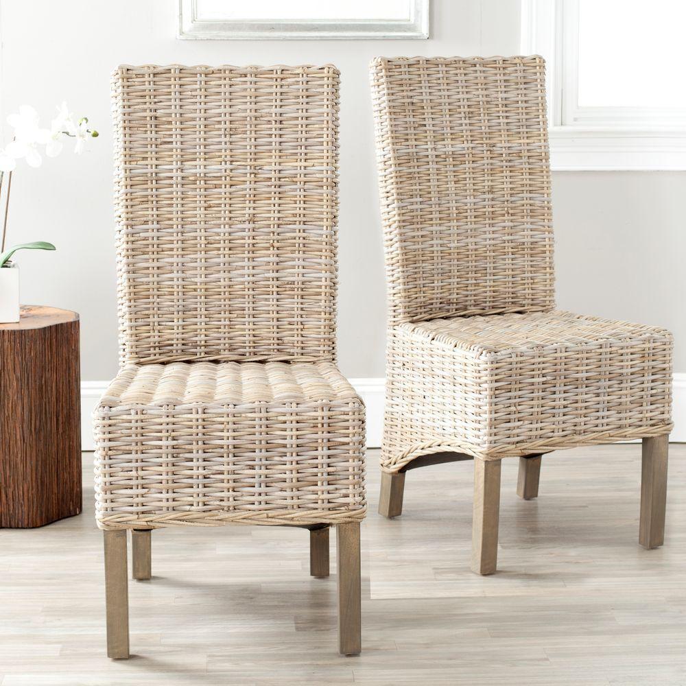 Pembrooke Natural Unfinished Mango Wood Side Chair