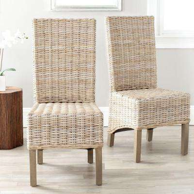 Pembrooke Natural Unfinished Mango Wood Side Chair