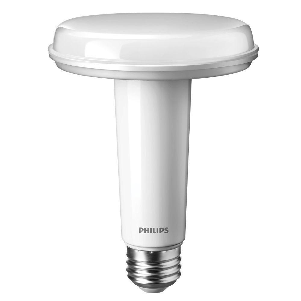 Philips SlimStyle 65W Equivalent Soft White (2700K) BR30 Dimmable LED Light Bulb