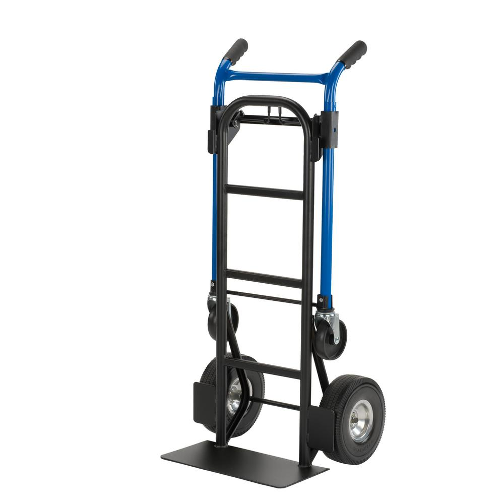 Quick Change 900 lbs. Capacity 4-in-1 Convertible Hand Truck