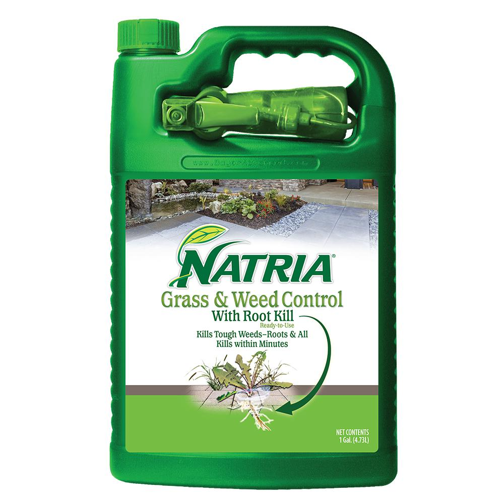 Natria 1 Gal. Ready to Use Natria Grass and Weed Control with Root Kill