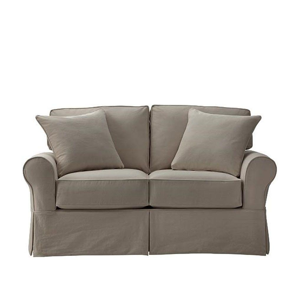 Home Decorators Collection Mayfair Classic Smoke Loveseat