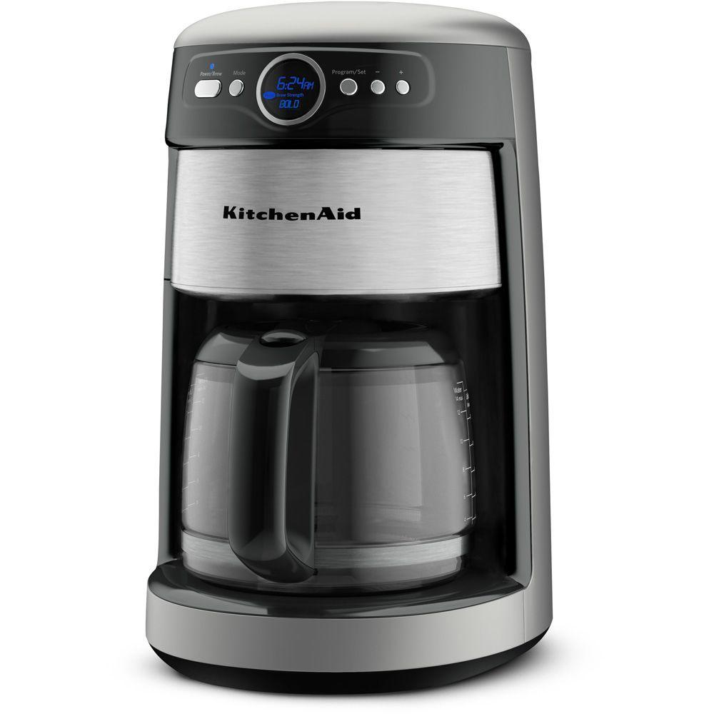 KitchenAid 14-Cup Coffee Maker in Contour Silver-DISCONTINUED