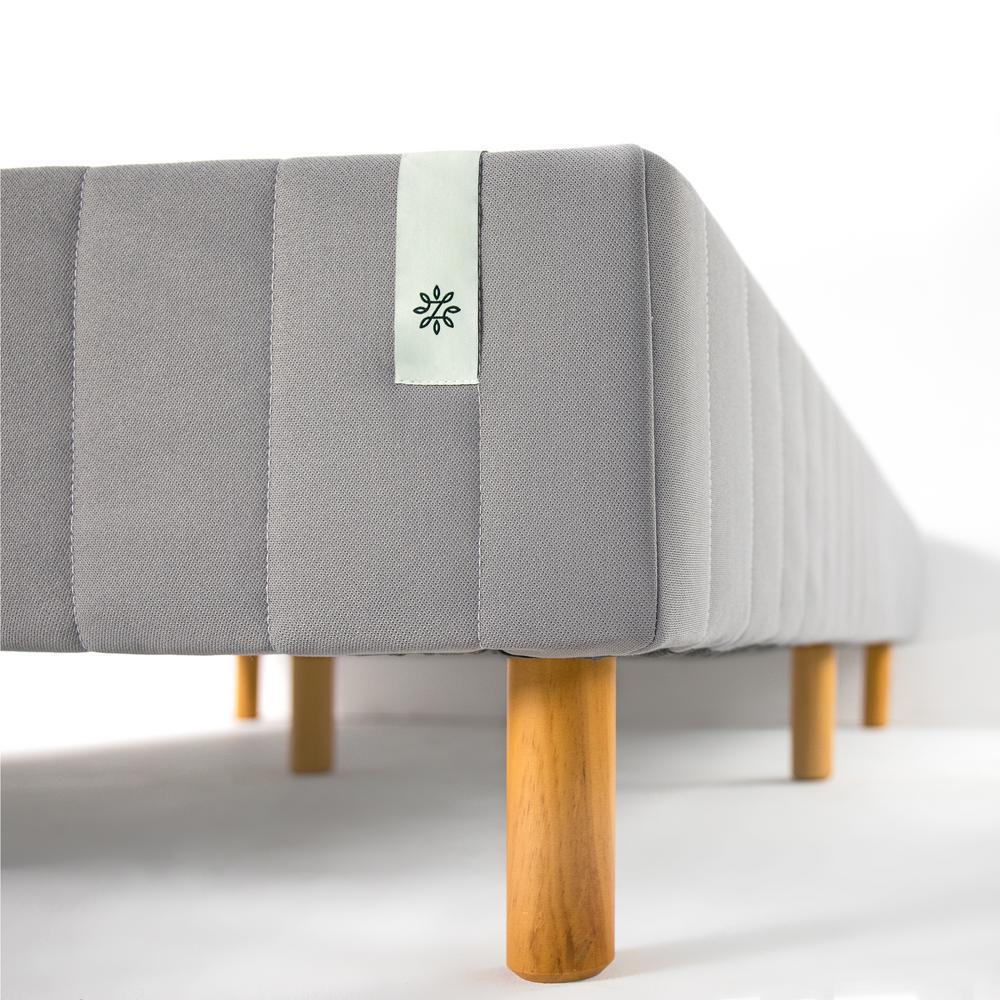 Good Design Winner Grey Metal Full 16 in. Mattress Foundation