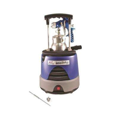 Spray Station Paint Sprayer with 1.5 mm Stainless Steel Needle