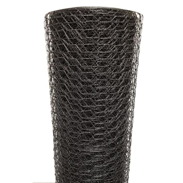 1 in. x 4 ft. x 150 ft. Vinyl Coated Poultry Netting