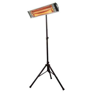 Tradesman and Tripod Outdoor 1,500-Watt Infrared Quartz Portable Heater with Wall/Ceiling Mount