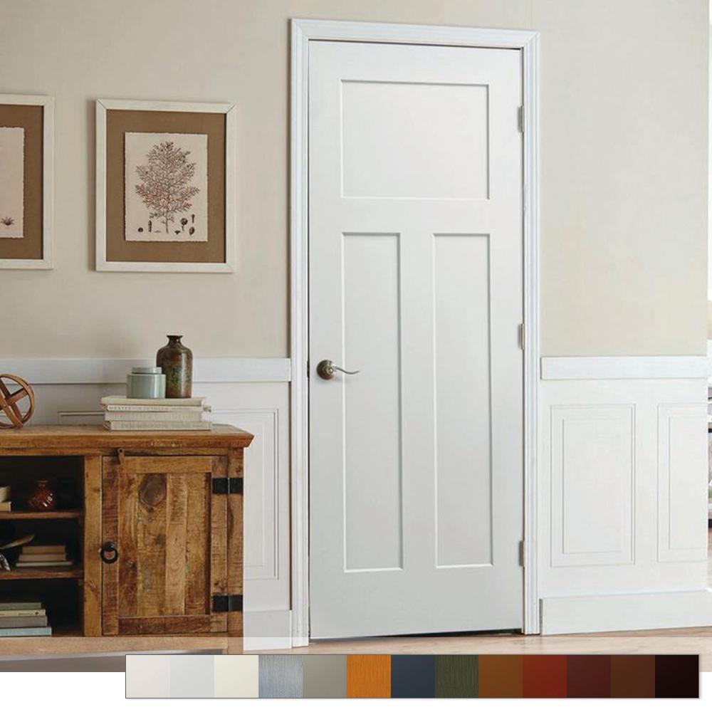 Craftsman Collection Slab Interior Door