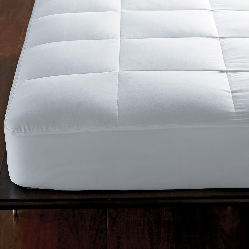The Company Store 1 5 In Twin Down Mattress Pad Mb36 T White The