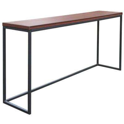 16.5 in. x 36 in. x 35.5 in. Spa Bar in Mahogany