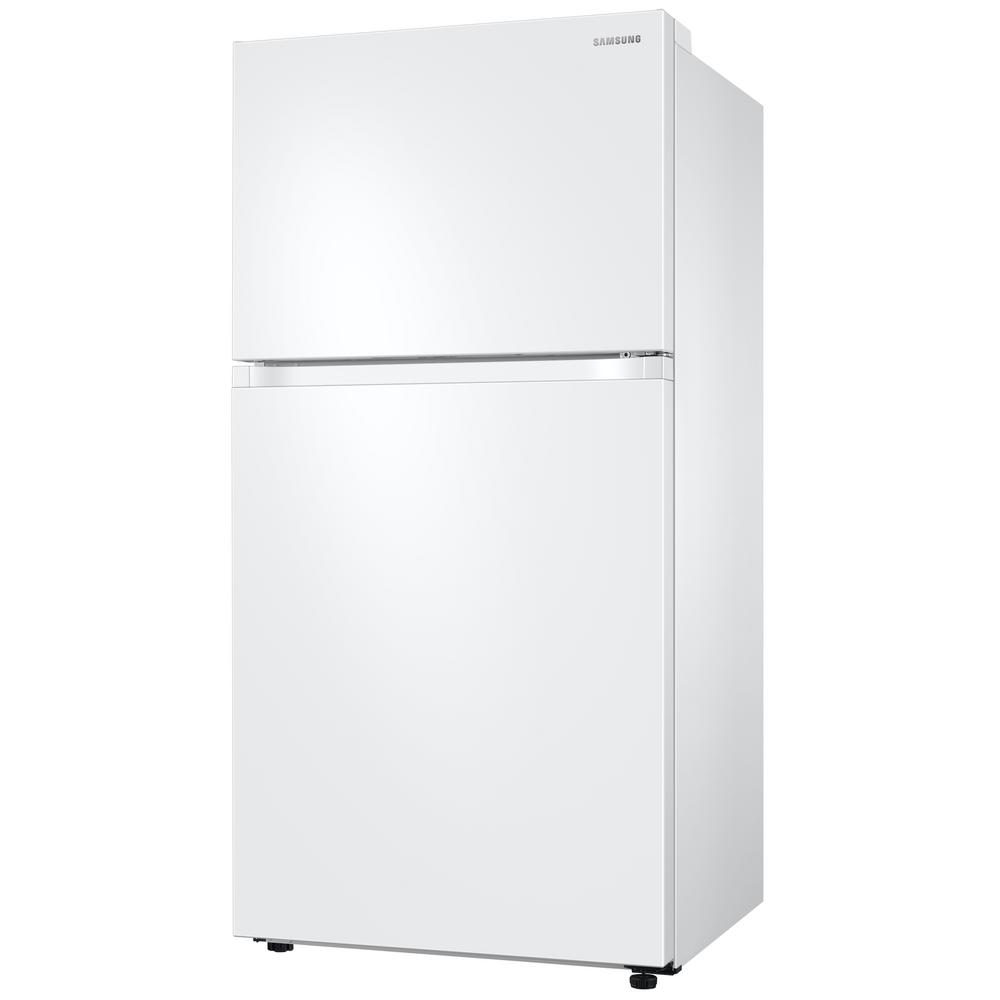 Samsung 21.1 cu. ft. Top Freezer Refrigerator with FlexZone Freezer in White, Energy Star