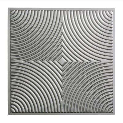 Echo - 2 ft. x 2 ft. Lay-in Ceiling Tile in Argent Silver