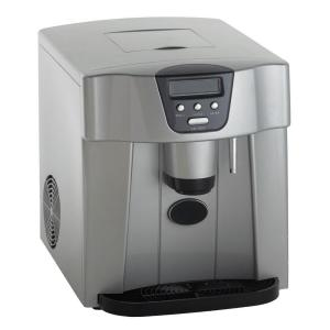 Countertop Portable Ice Maker In Platinum