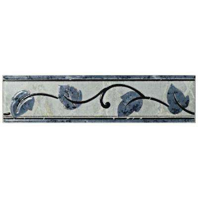 Aroas Listello Gris 2 In X 8 Ceramic Wall Trim Tile
