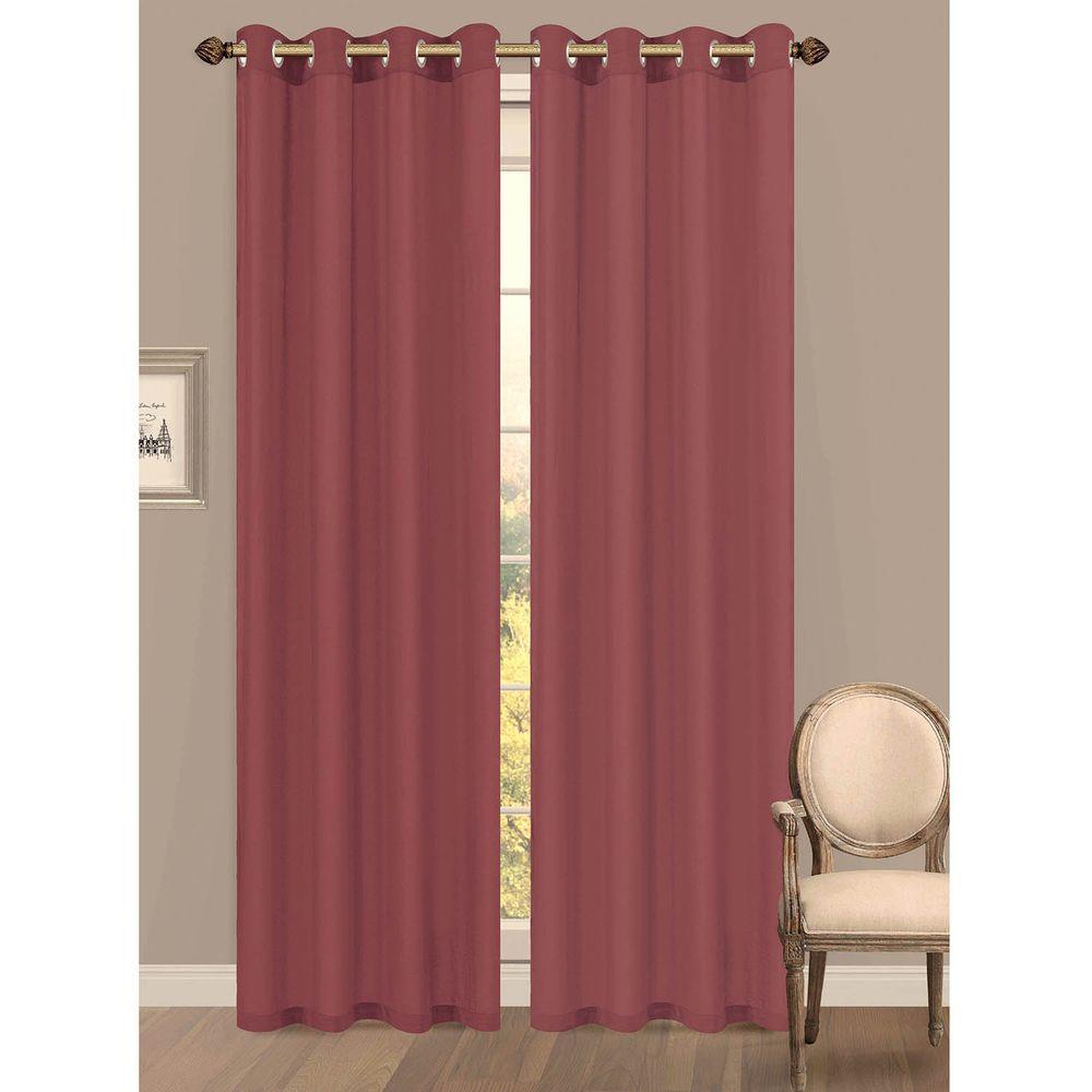 Burgundy Colored Kitchen Curtains