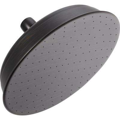 1-Spray 2.5 GPM 8-1/2 in. Raincan Shower Head in Venetian Bronze