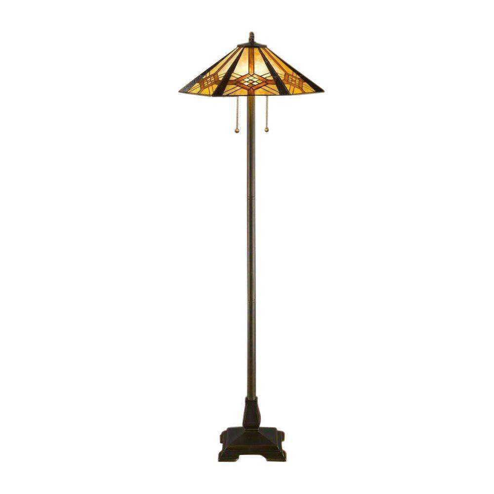 Set Table Serena Bronze Mission D'italia inHex Lamp 60 and Floor lKcTFJ1