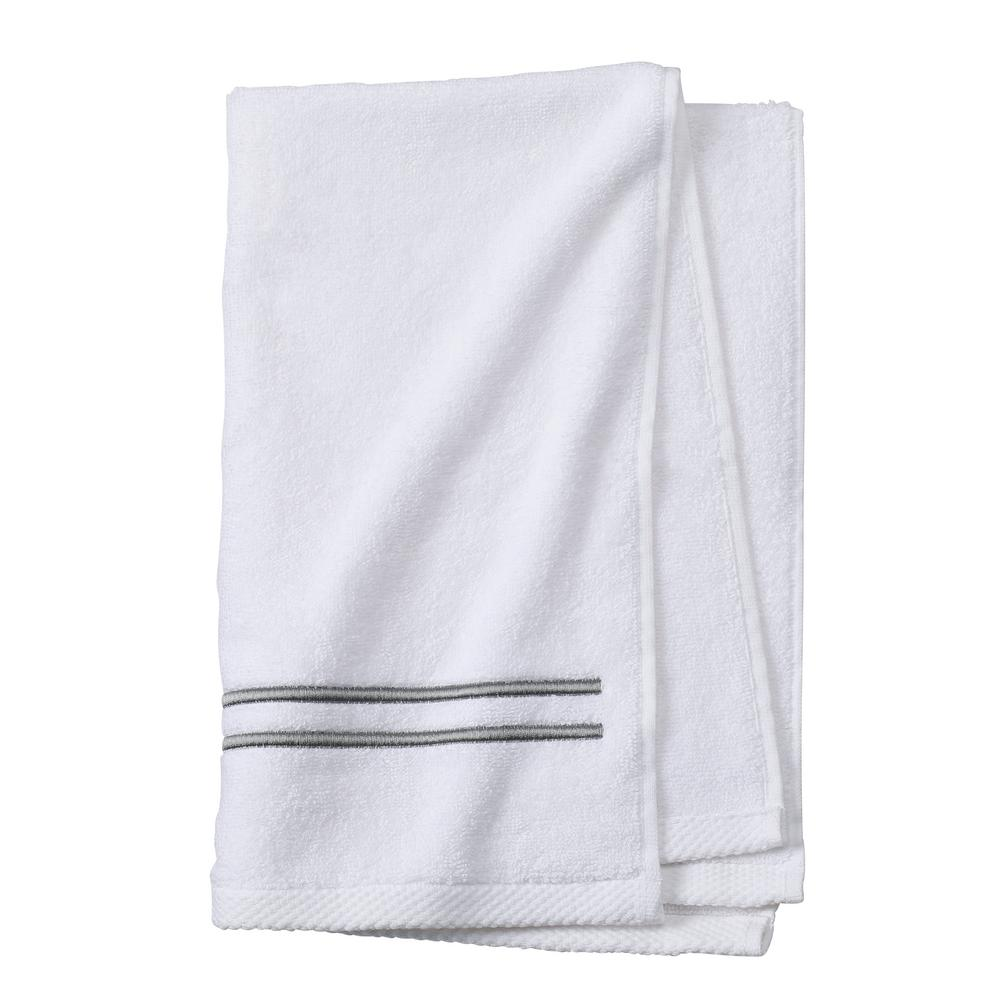 Sardis 1-Piece Hand Towel in Grey