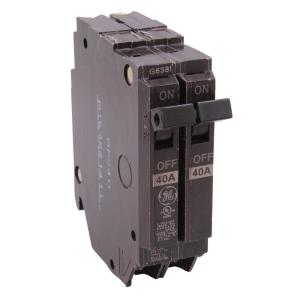 220V Circuit Breaker Wiring | Ge Q Line 15 Amp 1 In Double Pole Circuit Breaker Thqp215 The