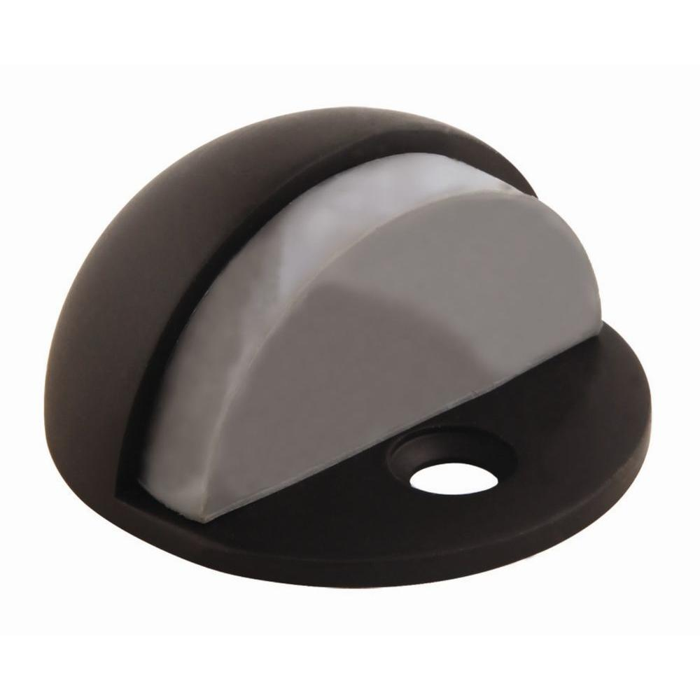 Design House Oil Rubbed Bronze Floor Mount Dome Door Stop