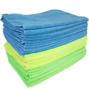 Microfiber Cleaning Cloths, Multi-Colored (36-Pack)