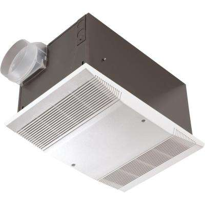 70 CFM Ceiling Exhaust Fan with 1500-Watt Heater and Wall Switch