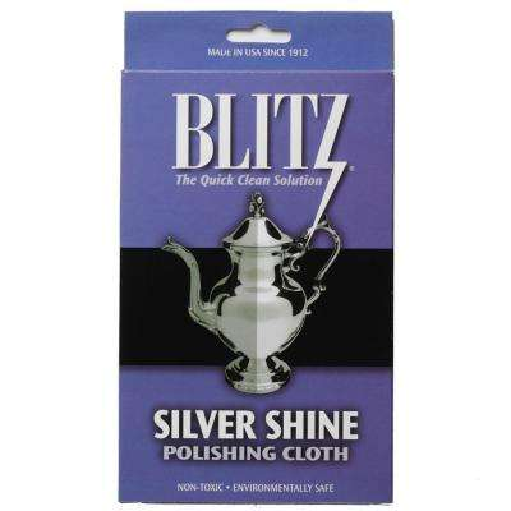 Silver Shine and Polishing Care Cloth