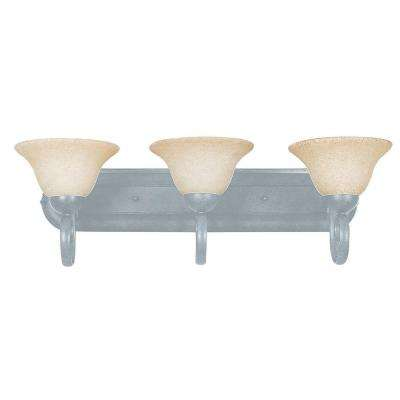 Tutt 3-Light Satin Nickel Bath Vanity Light