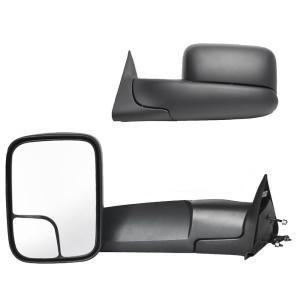 Dodge 98-01 Ram 1500 2500 3500 Pickup Power Heated Flip Up Towing Side Mirrors