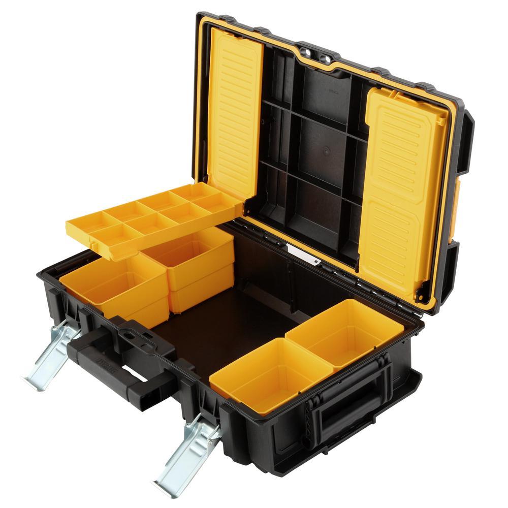 "DEWALT ToughSystem 22"" Tool box Lockable Storage Mobile ..."