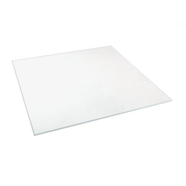 8 in. x 10 in. x 0.125 in. Clear Glass