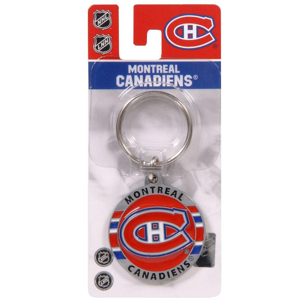 The Hillman Group NHL Montreal Canadian Key Chain (3-Pack)