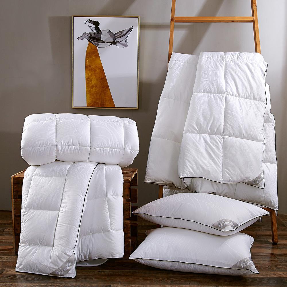 Hypoallergenic Down Alternative King Pillow (Set of 2)
