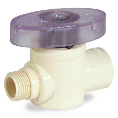 1/2 in. x 3/8 in. OD CPVC CTS Supply Valve