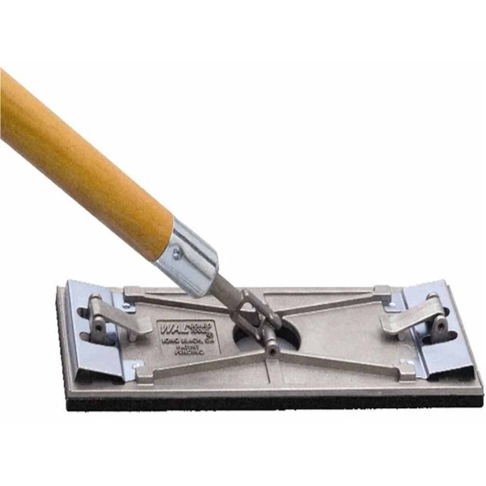 Wal-Board Tools 3-1/4 inch x 9-1/4 inch Tuff-Lock Pole Sander by Wal-Board Tools