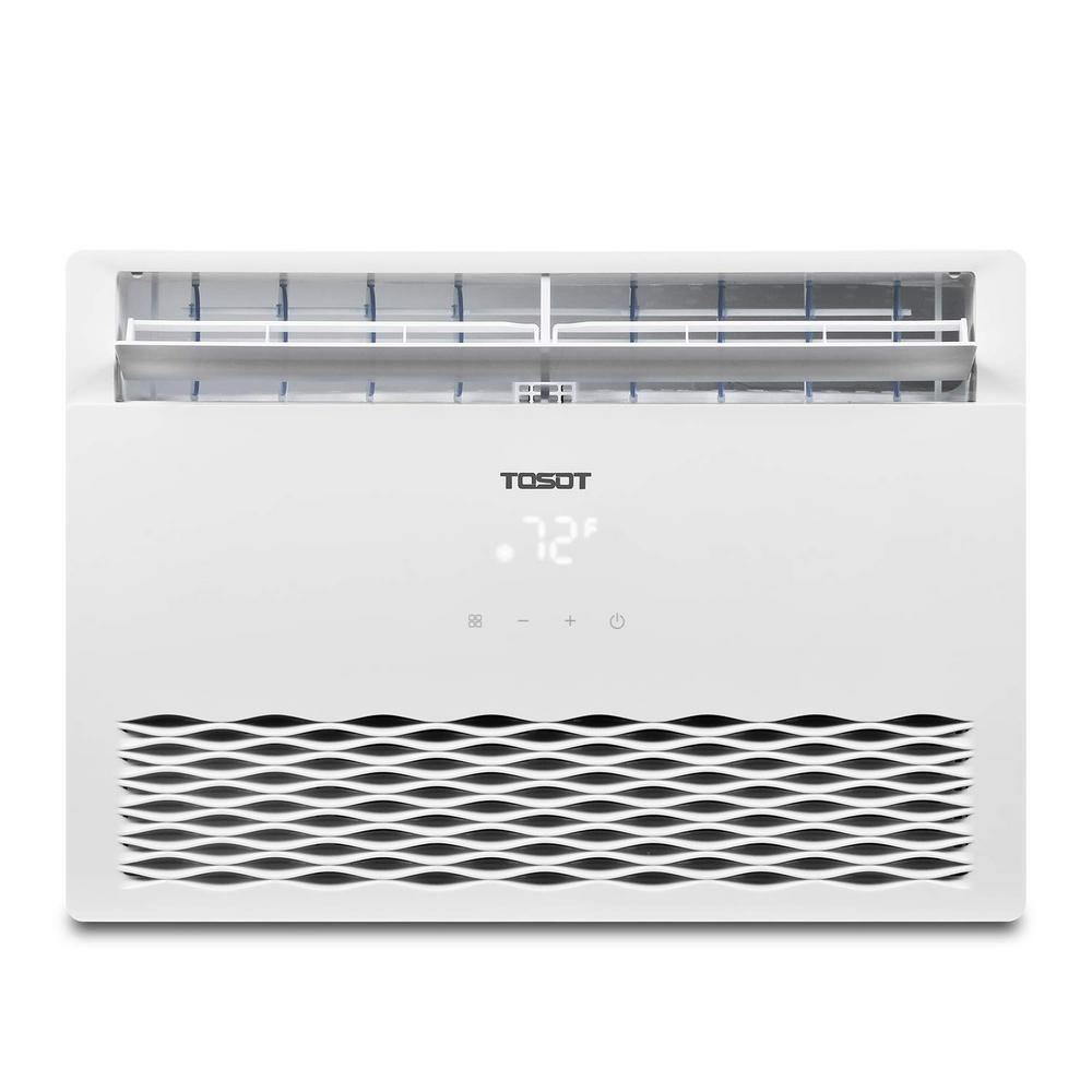 Tosot 8,000 BTU Window Air Conditioner with Temperature-Sensing Remote ENERGY STAR Window AC for Rooms to 350 sq. ft. in White