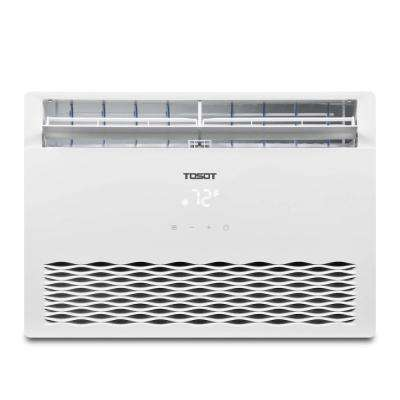 8,000 BTU Window Air Conditioner with Temperature-Sensing Remote ENERGY STAR Window AC for Rooms to 350 sq. ft. in White