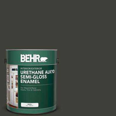 1 gal. #PPU18-20 Broadway Urethane Alkyd Semi-Gloss Enamel Interior/Exterior Paint